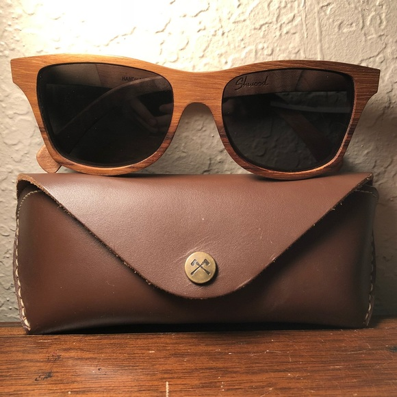 db00c1a8ae Shwood Canby Polarized Wood Sunglasses Excellent